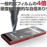【Xperia Z5 Compact対応】 強化ガラス 液晶保護フィルム 強度9H